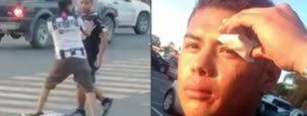 Violencia, empujones y pedradas en Estadios San Luis y Monterrey