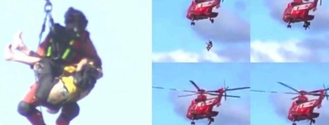 Abuelita sobrevive a tifón, muere al ser rescatada en helicóptero