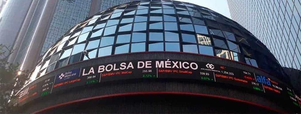 BMV suspende actividades; cayó 7%