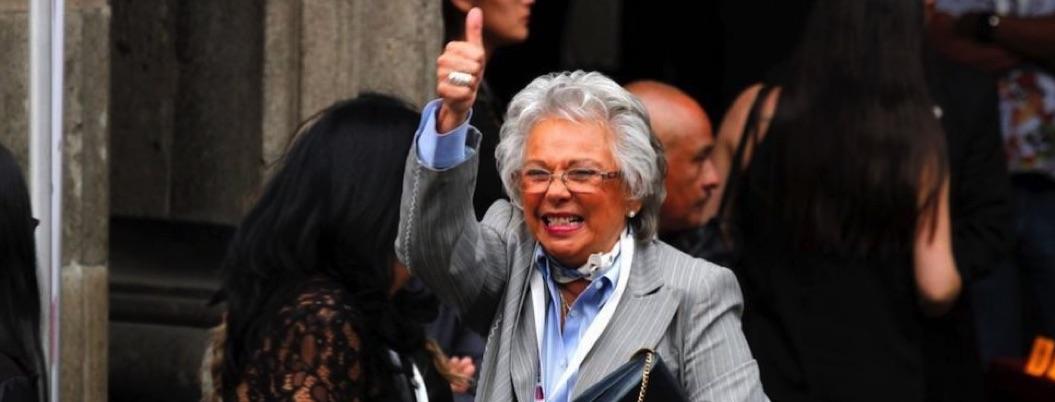 Olga Sánchez asegura que no se fumó el churro que le regalaron