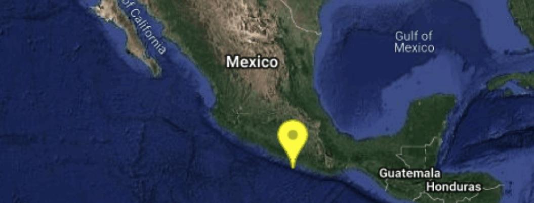Sismo de 4.2 sacude a Petatlán Guerrero esta madrugada