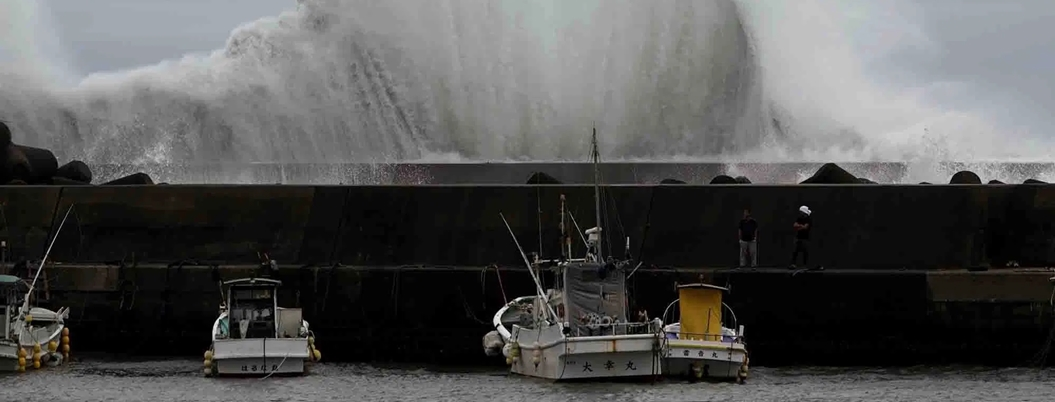 Tifón Hagibis pone en alerta a Japón