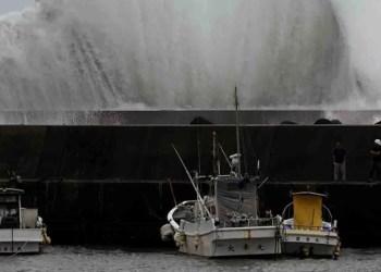 Tifón Hagibis pone en alerta a Japón 8