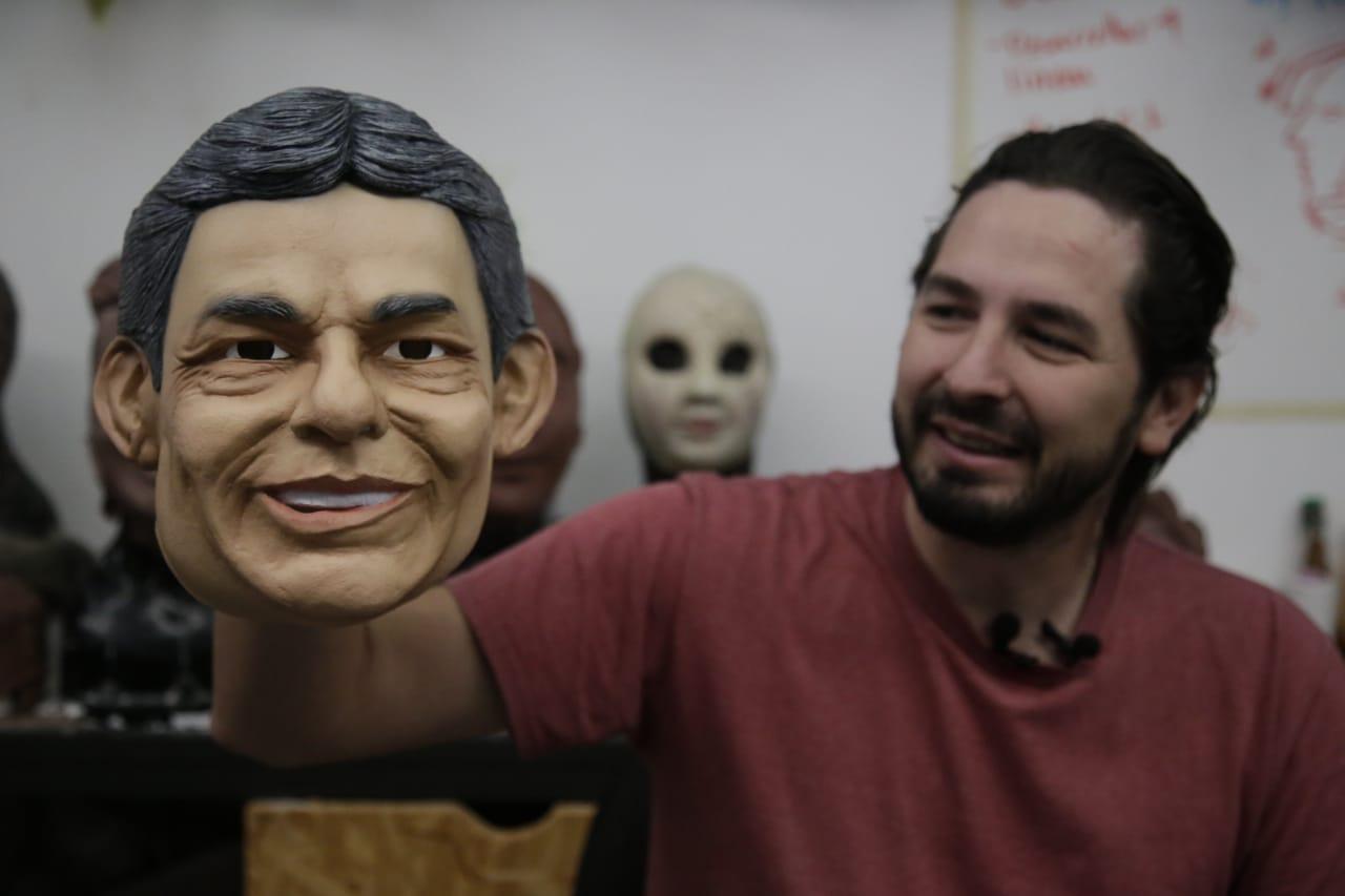 máscara de José José