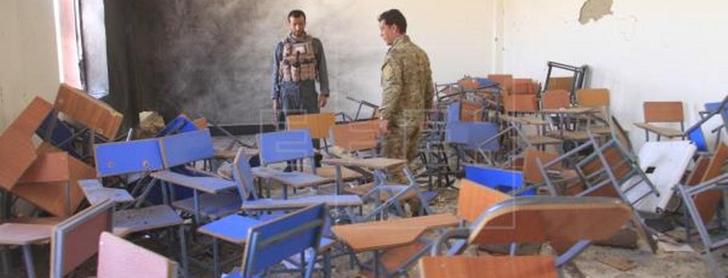 Explota bomba en universidad de Afganistán; hay 20 estudiantes heridos