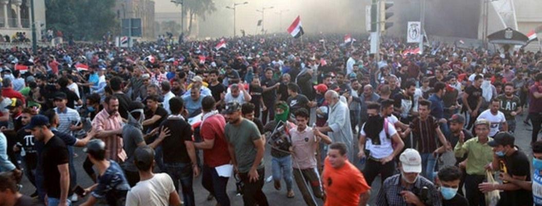 Irak: enfrentamientos entre policía y manifestantes dejan 1 muerto 95 heridos