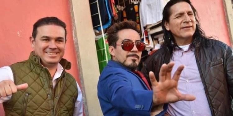 Alcalde contrata a doble de Tony Stark para motivar policías 1