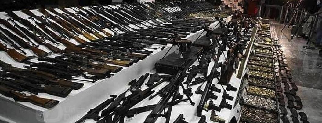 Sedena alerta sobre aumento robo de arsenal de fuerzas policiales