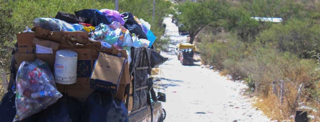 Gaspar dará premio a quien separe su basura, pero no hay camiones