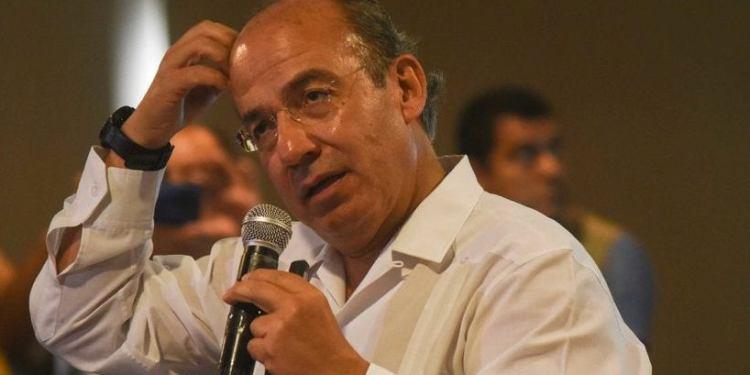 Calderón dice que la gente lo recuerda por enfrentar al crimen