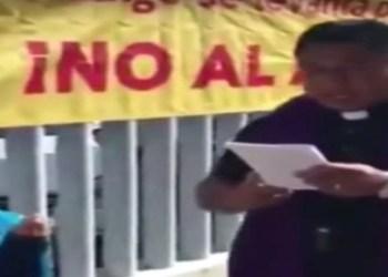 Sacerdotes realizan exorcismos para detener el aborto en Hidalgo 4