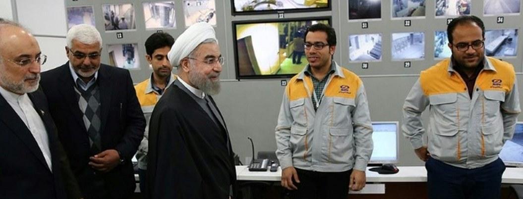 Irán produce actualmente 5 kilos de uranio enriquecido por día