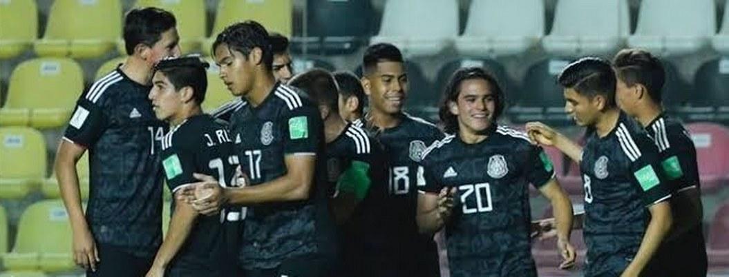 México clasifica a octavos de final Sub 17 en Brasil