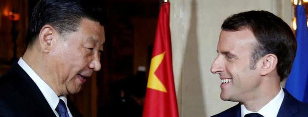 China y Francia firman acuerdos por 15 mil millones de dólares