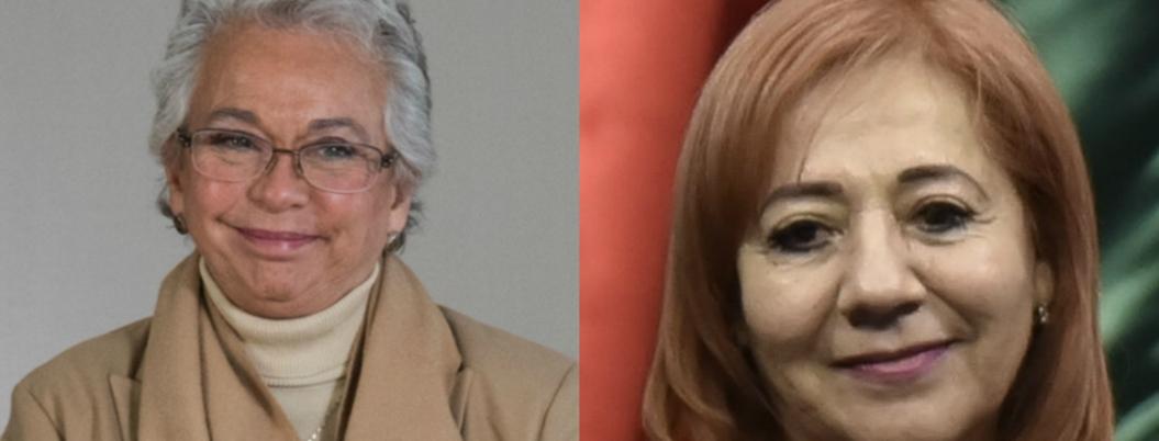 Olga Sánchez recomienda confiar en Rosario Piedra