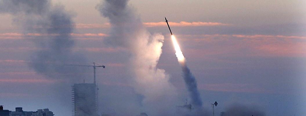 Israel intercepta cohetes lanzados desde Siria