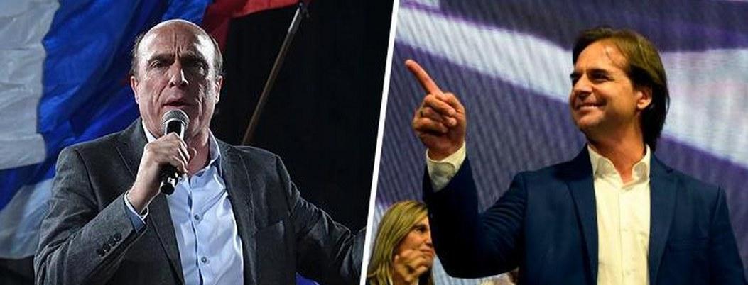 Candidato presidencial oficialista se alista para segunda vuelta en Urugay