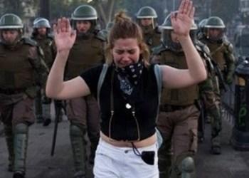 Carabineros de Chile pierden prestigio por reprimir protestas 3