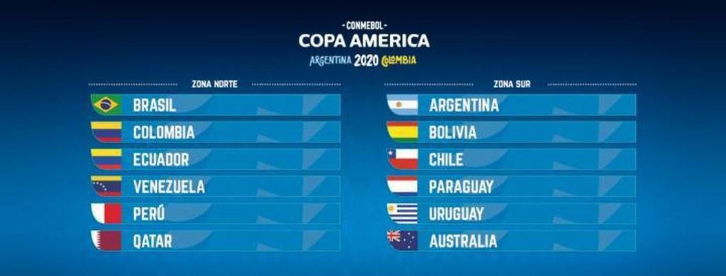 Definido el calendario para la Copa América 2020