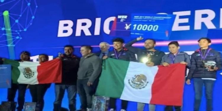 México, el indiscutible rey en Mundial de robótica: se lleva 1, 2,3 1