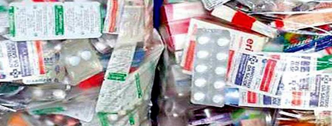Roban 20 mdp en medicinas de almacenes de Salud en Veracruz