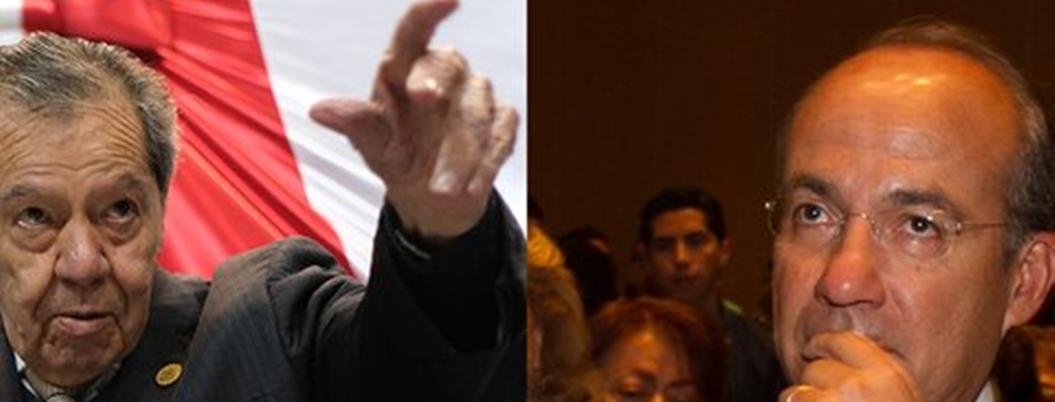 """""""Calderón debe ser procesado"""", aseveró Muñoz Ledo"""