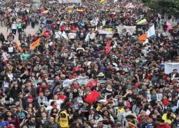 Protestas en Colombia por medidas económicas no paran 1