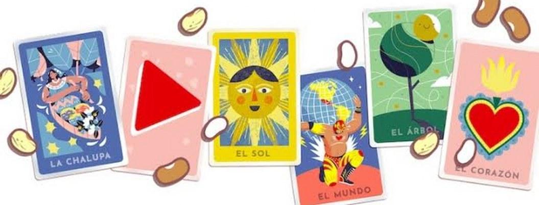 Doodle de Google te perimite jugar lotería mexicana