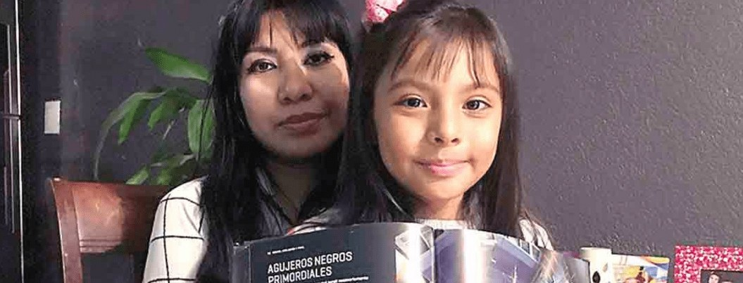 Niña genio mexicana recibió invitación para estudiar en Arizona