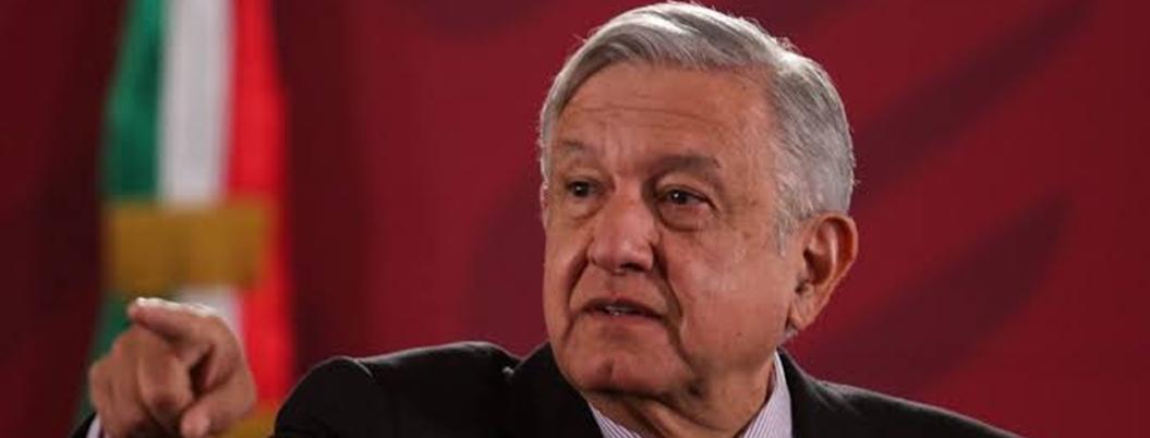 """AMLO minimiza caída del PIB, porque hay """"bienestar del pueblo"""""""