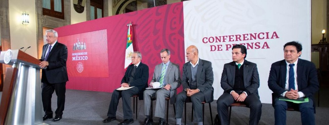 """López Obrador: """"en México no hay riesgo del Coronavirus"""""""