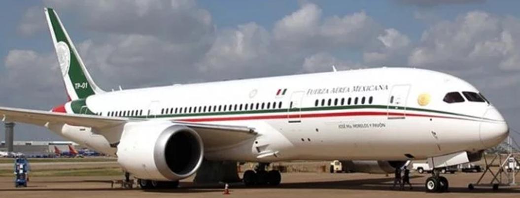 Esta cumbia no la tiene ni Trump: avión presidencial tiene cumbión