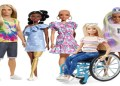 Mattel lanza Barbies con vitiligo y con prótesis de oro 11