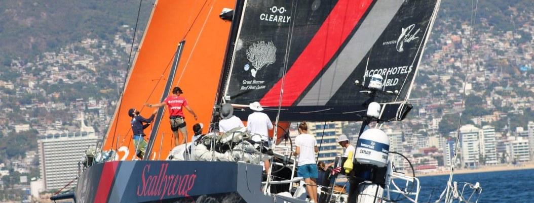 Barco que participará en The Ocean Race 2021-22 llega a Acapulco