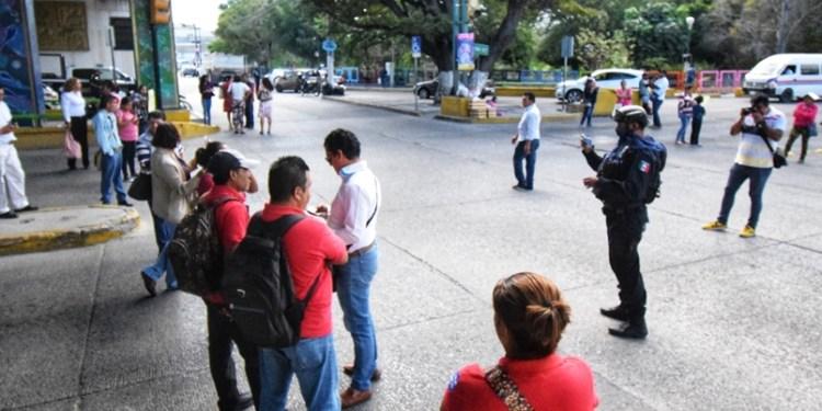 Agentes agredieron a discapacitados en Chilpancingo 1