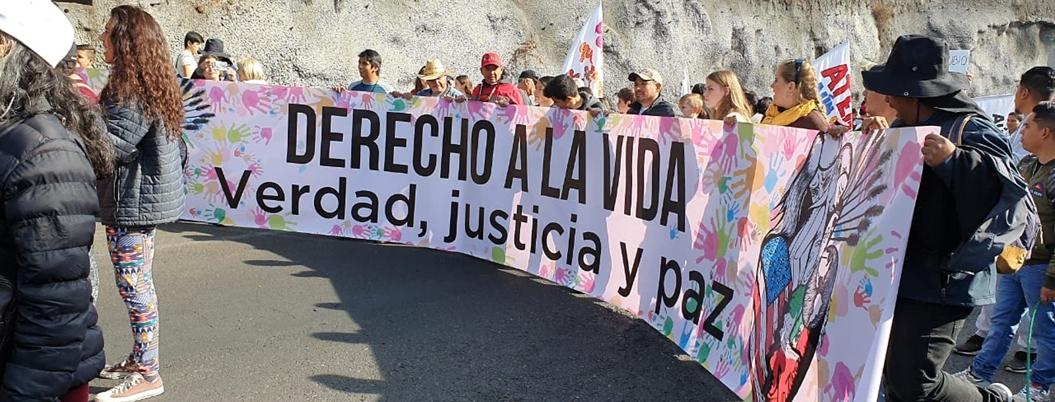 CNDH pide medidas cautelares para caminata de Sicilia y LeBarón