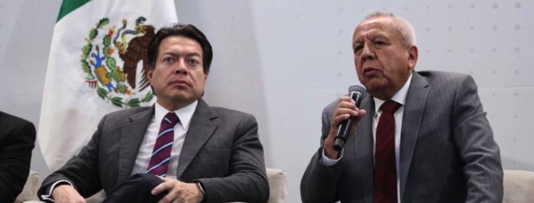 Morena respalda a Guarduño ante exigencias de renuncia Muñoz Ledo