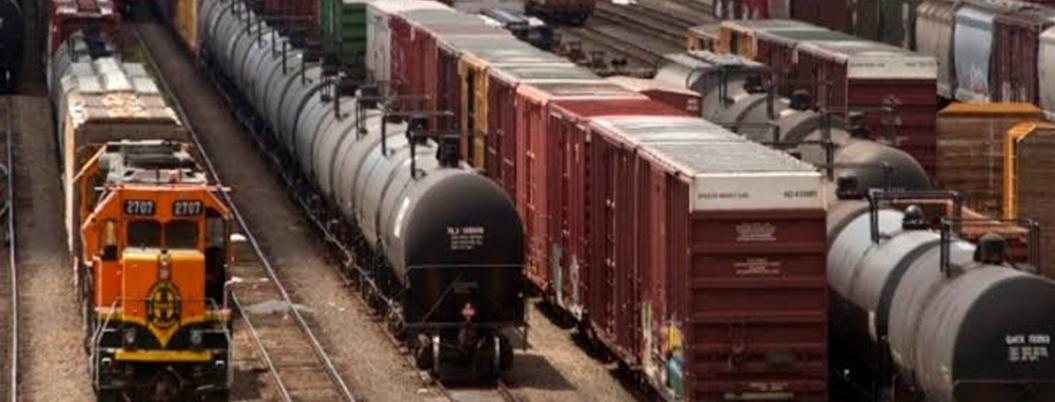 Carga ferroviaria disminuye 2.2% en México
