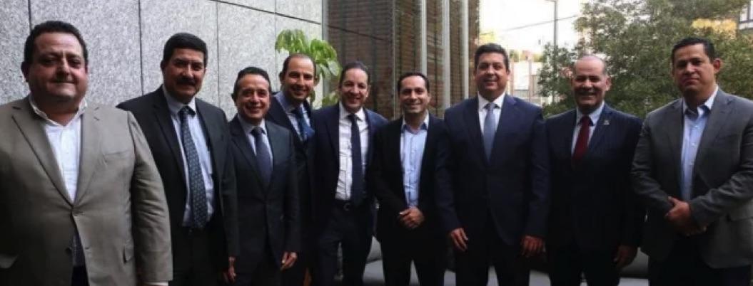 Gobernadores del PAN se doblegan al fin: se afilian al Insabi