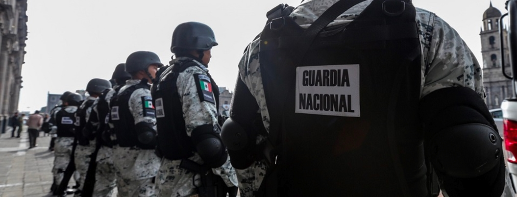 GN monta muro 4T con recorridos de vigilancia en frontera sur