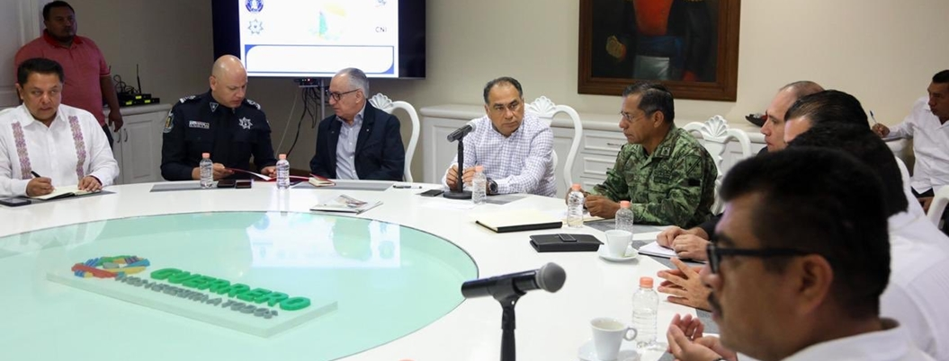 Astudillo presume que no ocurren desgracias nacionales en Guerrero