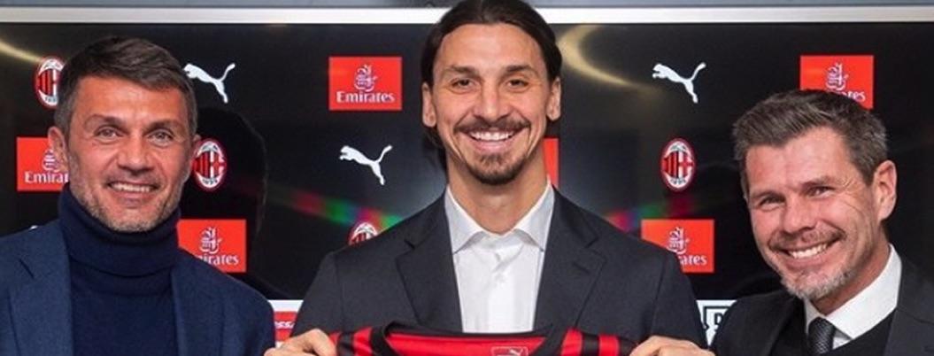 Presentan oficialmente a Ibrahimovic como jugador del Milan