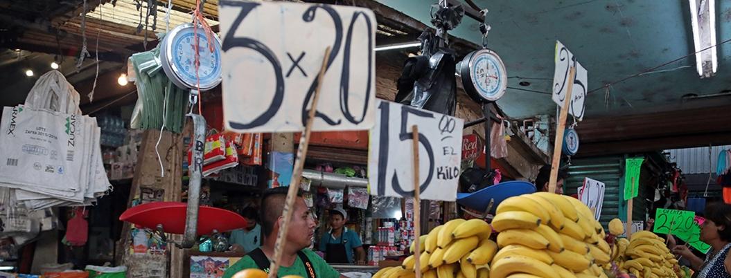Inegi reporta inflación de 2.83% en 2019