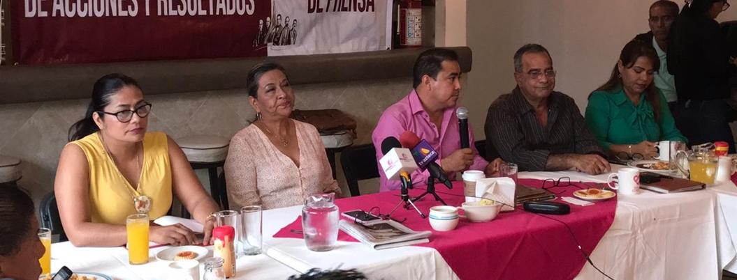 Empresarios se amparan para evadir impuestos, acusa Solorio