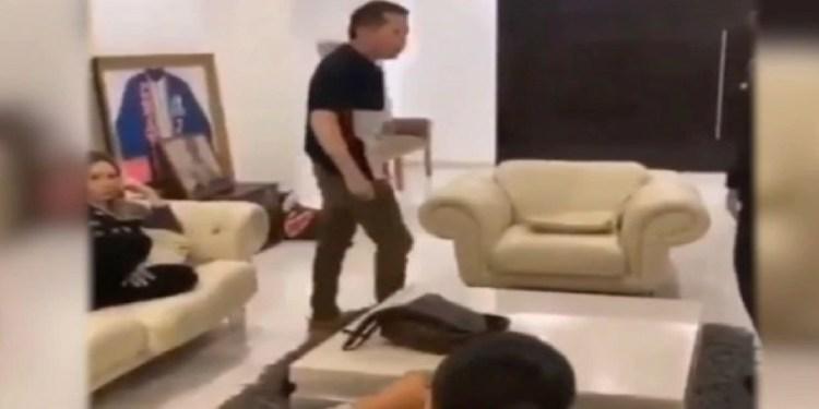 Julio César Chávez da regañiza a su hijo por hacer video mariguano 1