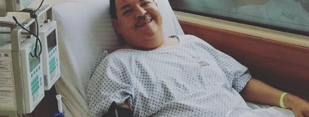 Julio Preciado manda mensaje tras librar trasplante de riñón