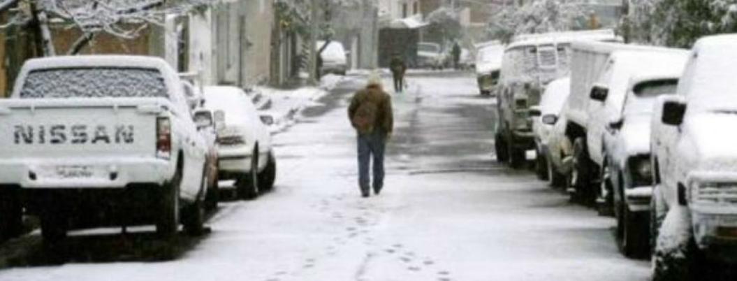 Registran menos 13.5 grados en la Rosilla, Durango