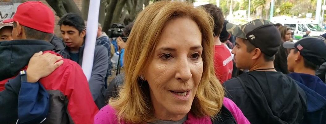 Activista critica a AMLO por no atender a la marcha de Sicilia