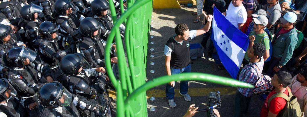 Migración centroamericana elevaría violencia en México