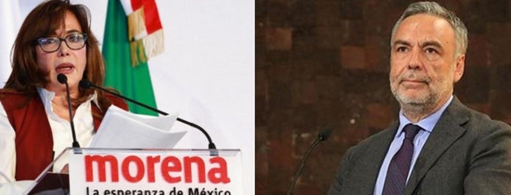 Morena se parte, tiene dos dirigentes: Ramírez Cuéllar y Polevnsky